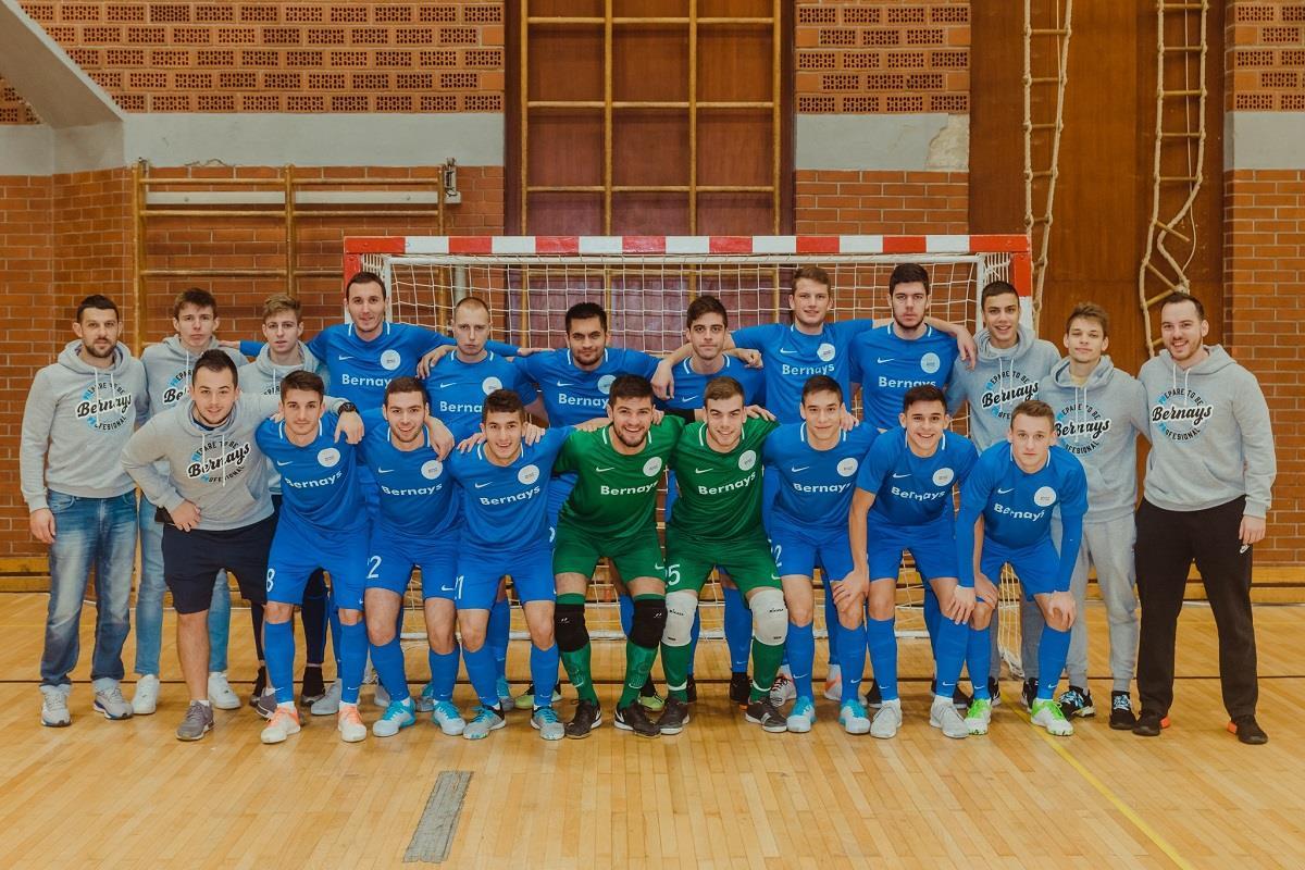 Novo pojačanje Futsal Dinama dio je Edward Bernaysove futsal momčad