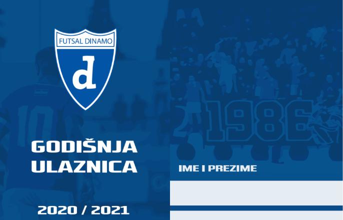Godišnja ulaznica Dinamo