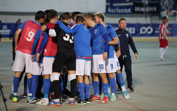 Zajednički trening Dinamo Hammarby