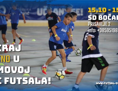 Treniraj besplatno u Dinamovoj Školi futsala (od 15.10.-15.11.)!
