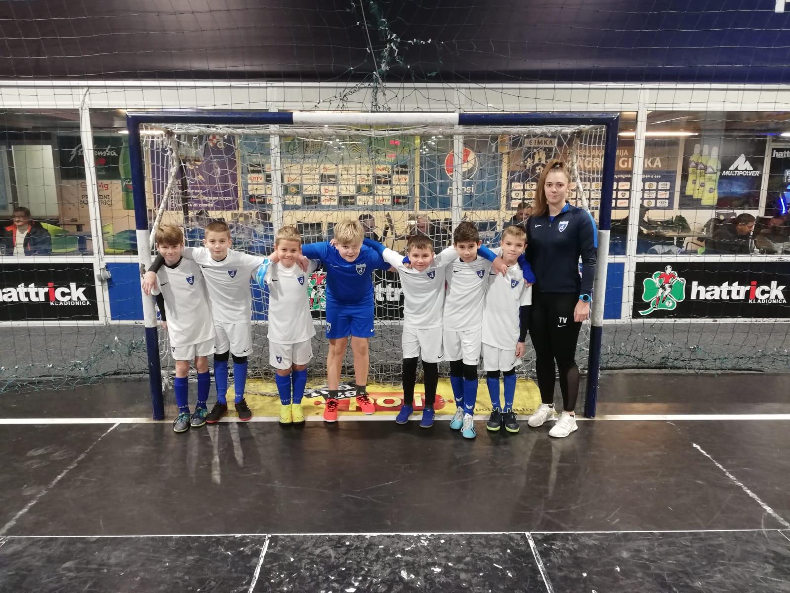 Futsal Dinamo U-9, kadeti i U15 na Sljemenu