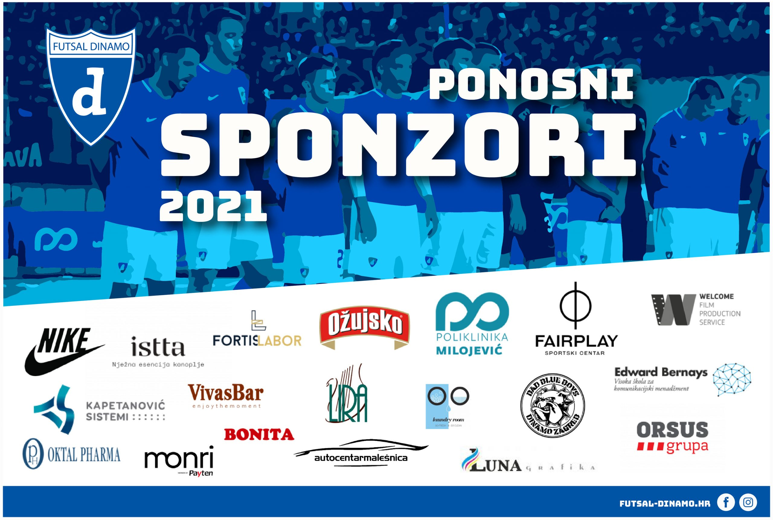 Dinamovi sponzori