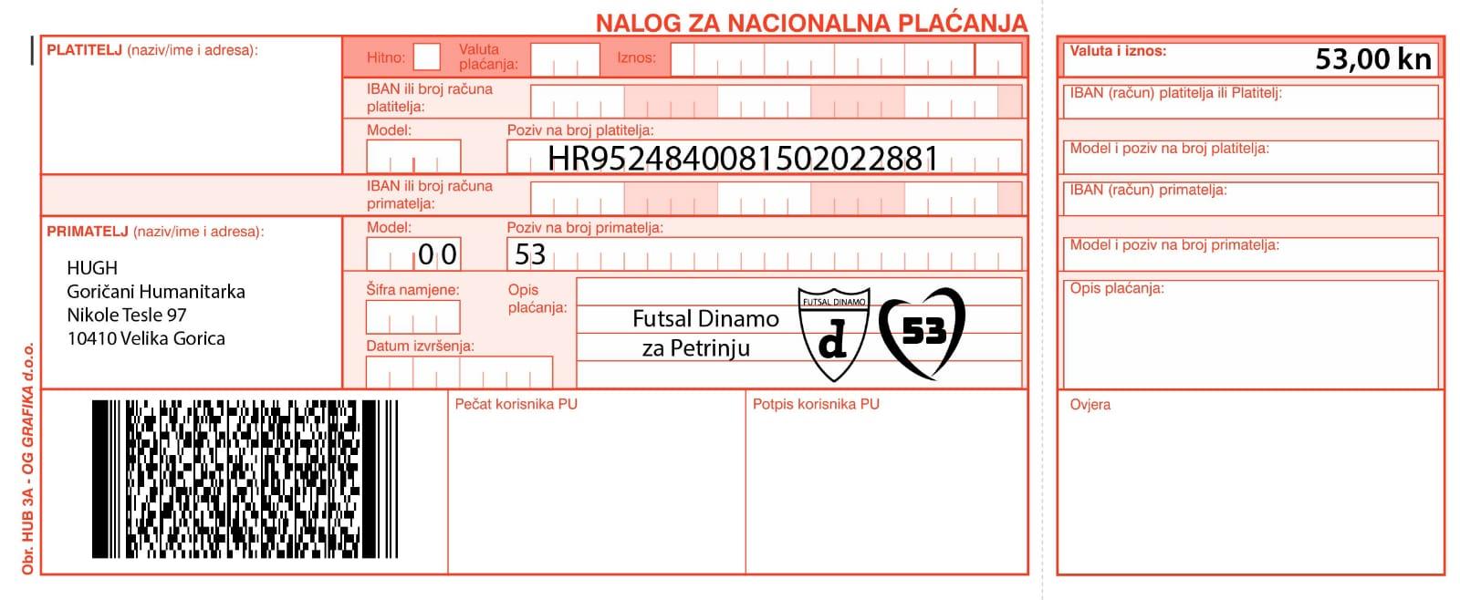 Dinamo za 53nju