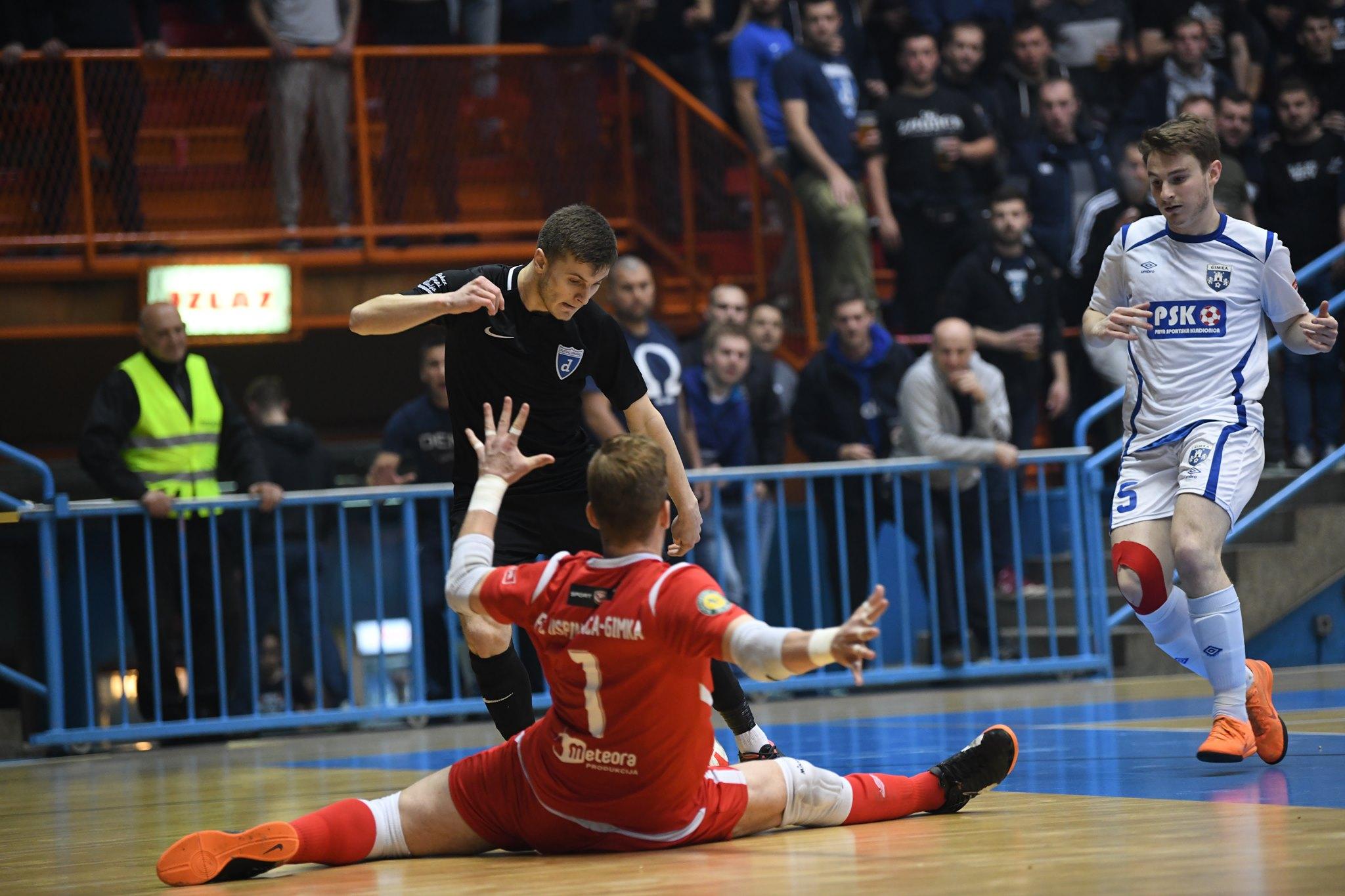 Futsal Dinamo - Uspinjača-Gimka