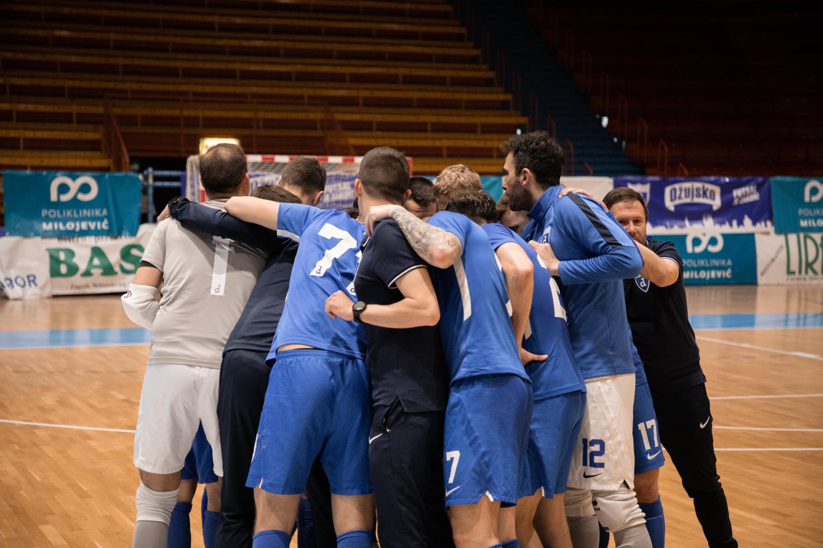 Futsal Dinamo u polufinalu prvenstva Hrvatske