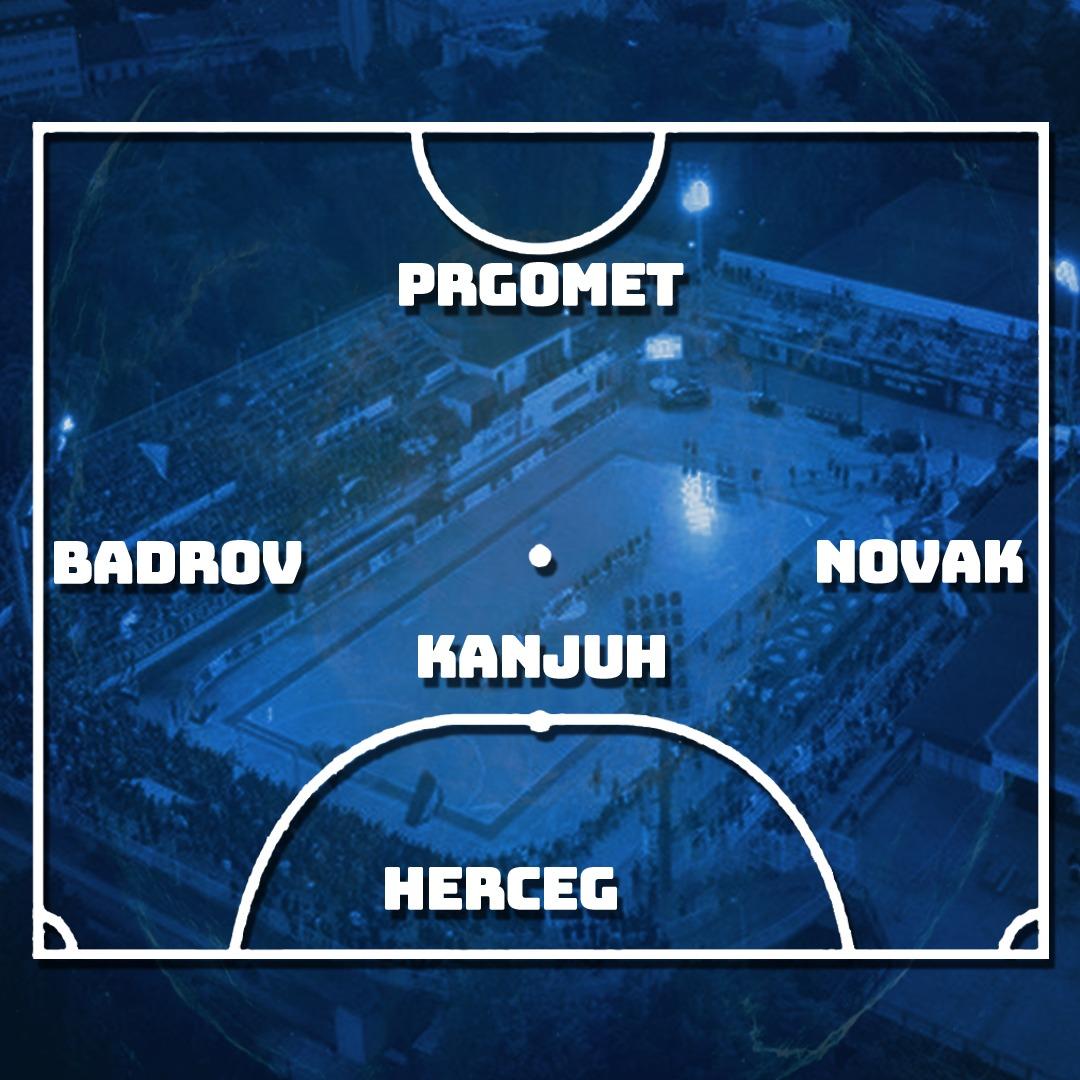 Futsal Dinamo postava sezone 2020/21