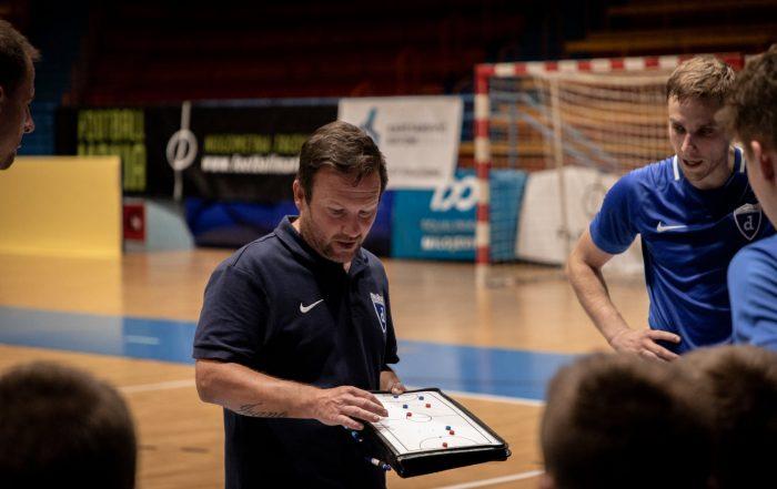trener prve momčadi Futsal Dinama